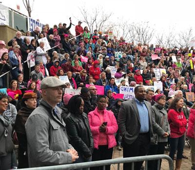 Public Speaking Women's Rally,Ali Center, Louisville, KY